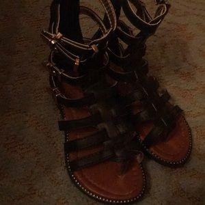 Other - Black Roman sandals